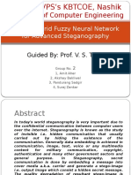 Hybrid Fuzzy Artificial Neural Network for Steganography
