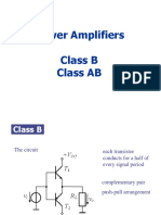 15 Power Amplifier Class B AB