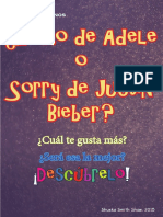 ¿Adele o Justin Bieber?