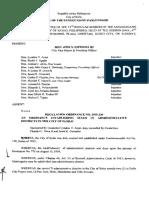 Iloilo City Regulation Ordinance 2015-230