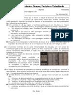 FT I Mecânica Tempo Posição e Velocidade.docx