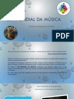 1 de Outubro Dia Mundial Musica