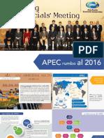 Boletin APEC Rumbo Al 2016