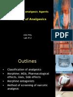 Analgesics 2 3