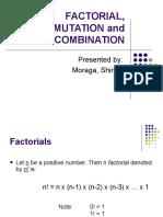 Factorial-Permutation-Combination