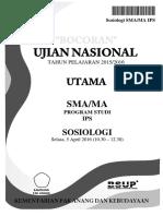 Bocoran Soal UN Sosiologi SMA IPS 2016 [Pak-Anang.blogspot.com]