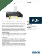 Epson L1300 A3 Colour Inkjet Tank System Printer Datasheet