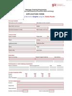 Application Form 2015-2016 En