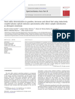 Total sulfur determination in gasoline, kerosene and diesel fuel using inductively coupled plasma optical emission spectrometry after direct sample introduction as detergent emulsions.pdf