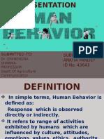human behavior.pptx