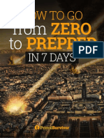How to go from zero to prepped in 7 days