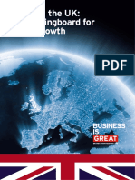 Invest in the UK Your Springboard for Global Growth