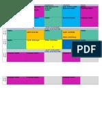 Group 2 Timetable PYP.