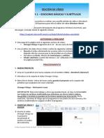 Práctica 1 - Ediciones Básicas y Subtítulos
