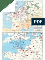 Mapas World War II in Western Europe
