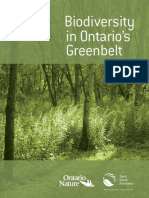 Biodiversity in Ontario's Greenbelts (Suzuki, 2011-12)