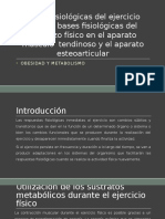 Bases Fisiológicas Del Ejercicio Físico y Bases Fisiológicas