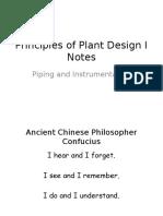 Piping and Instrumentation