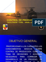 Clases de Control de Producción