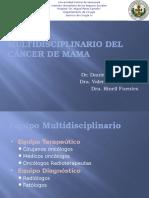 Manejo Multidisciplinario Del Cáncer de Mama Seminario