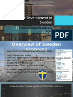 Real Sector Development in Sweden