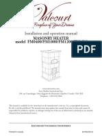 Masonry Heaters Installation