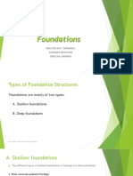 Foundations engineering