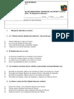 Guías de Salida Pedagogica 7º EL Quijote 30082016