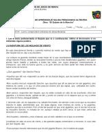 Guías de Salida Pedagogica 6º EL Quijote 30082016