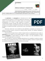 6º Bàsico Lenguaje Nº2 Guía de Publicidad 2016