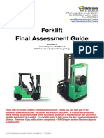 Final Assessment Guide Forklift v1