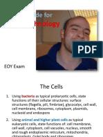 2016 S3 as Biotech EOY Study Guide