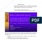 MSAccess Database Management System