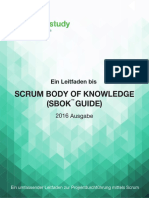 SCRUMstudy SBOK Guide 2016 German