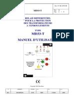 Relais Differentiel Pour La Protection Du Transfo Md33t_mu