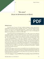 Kant - Do Génio