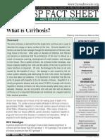 What is Cirrhosis