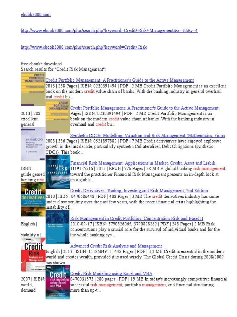 E Book Derivative Finance Credit Derivative