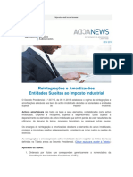 Reintegracoes e Amortizacoes - Entidades Sujeitas Ao Imposto Industrial