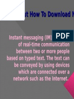 Find Out How to Download Mobile Instant Messaging
