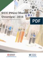 GCC Power Market 2016