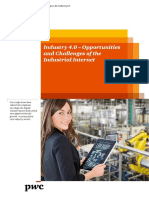 Pwc - Industry 4.0 – Opportunities & Challenges
