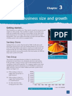 Business Size and Growth