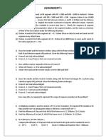 assignment1 HPN