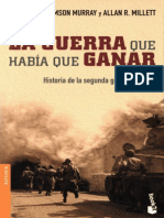Williamson Murray-La Guerra Que Habia Que Ganar.epub