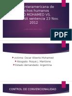Caso Mohamed vs Argentina