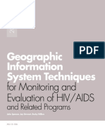 GIS Techniques for M&E of Hiv