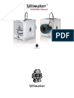 Ultimaker 2 Assembly Manual V1.1