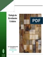 Patologia em Revestimentos Cerâmicos