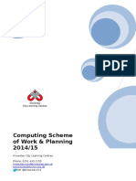 Computing Scheme of Work Planning 2014-15-0808
